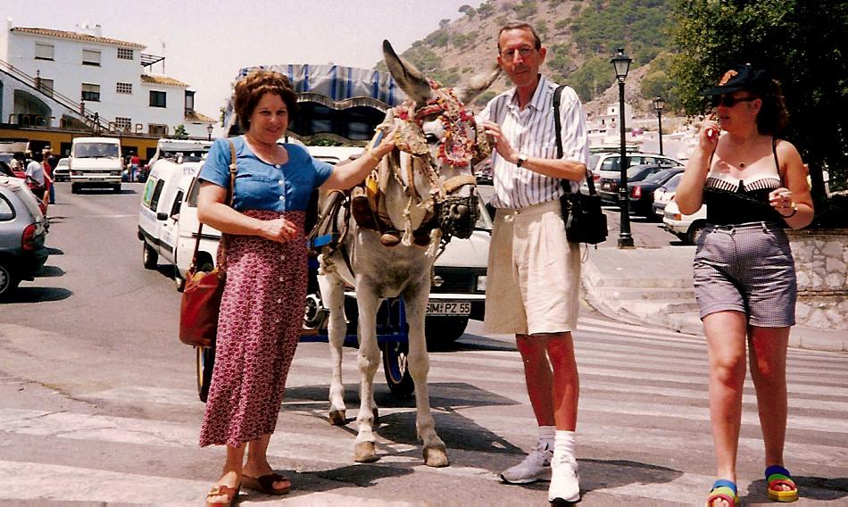 Lia, Paquita e Peppino (Mijas - Málaga, 1991)